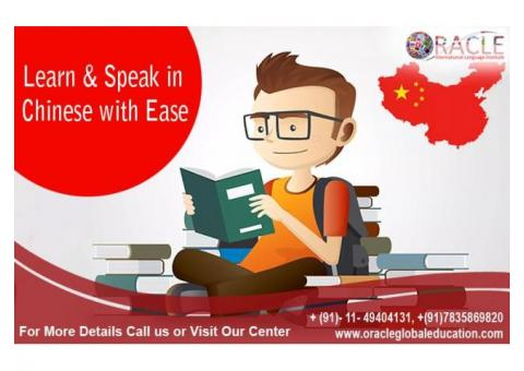 Learn Chinese Language Comfortably with Oracle International Language Institute