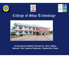 collage of ship technology