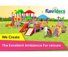 Funriders/Special needs play ground equipments/playground equipments for physical disabled.