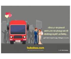 Hire Tourist Bus Online for Wedding in Cochin