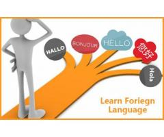 Want to learn foreign language ?