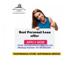 Quick Business and personnel loan 5,000- 100,00