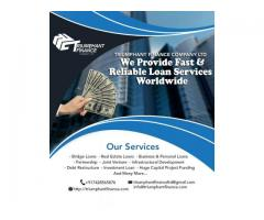 WE CAN FINANCE YOUR PROJECTS!