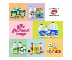 Al Ain Farms | Fresh Dairy Products in UAE