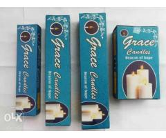 First Quality White Candles