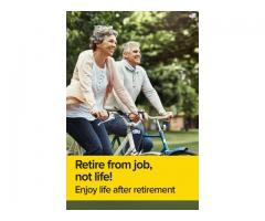 Live a stree free and graceful life after retirement