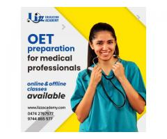 Online& Offline classes available for medical professionals preparing OET