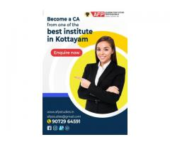 Become a CA from one of the best institutes in Kottayam
