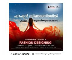 Boost your career with professional diploma in fashion designing.