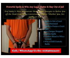 How to Win a Court Case: Court Case Spells to Help You Get Out of Jail Call or WhatsApp +27836633417