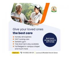 Best paid old age home in kottayam, kerala with all modern facilities