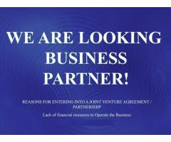 Looking to invest as a silent Business partner