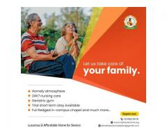 Best paid old age home in kottayam, kerala