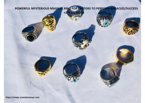 Supporting Magic Ring For Ministries To Make Miracles And Wonders ,Protection ,Energy