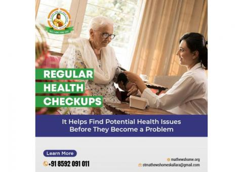 we take care of health of all our residents and provide them timely checkups.